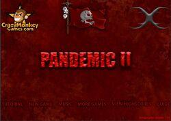 Pandemic menu