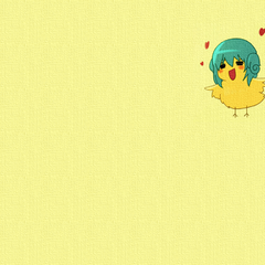 Chickie Leez yellow canvas 1024x768