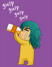 1-08 Leez finishing off Agni's curry soda.png