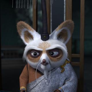 Shifu's silver-colored formal <a href=