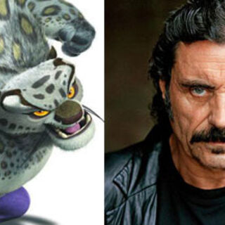 Tai Lung and his voice actor, <a href=