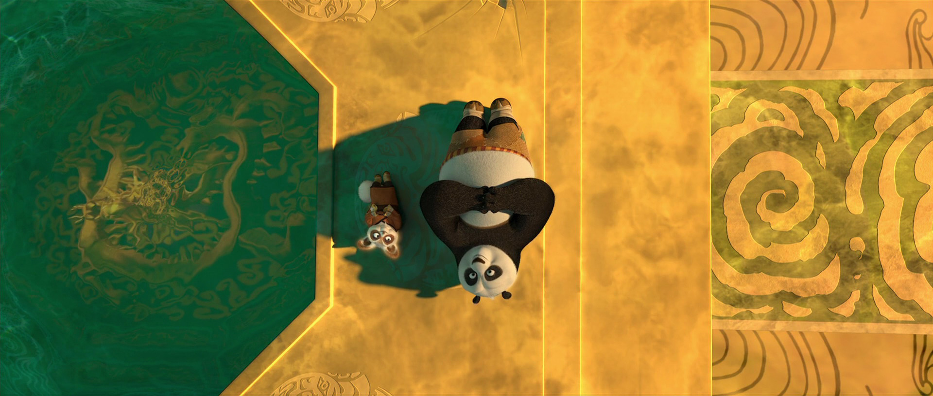 2316  July 30  2011 Kung Fu Panda Po And Shifu