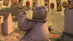 Giant Po Statue