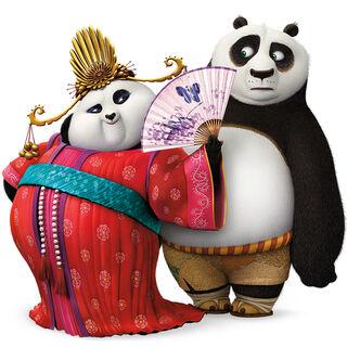 Mei Mei and Po in a <i><a href=