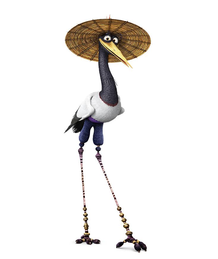 kung fu panda crane flying