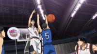 Hyuga stops Moriyama