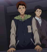 Ogiwara calls out to Kuroko