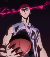 Akashi enters the Zone