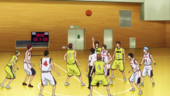 Seirin High vs Josei High anime
