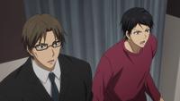Nijimura and Sanada see Kuroko's misdirection anime