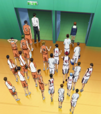 Seirin vs Shutoku match end