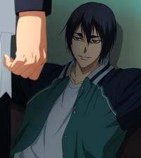 Hanamiya talks to Kiyoshi