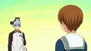Kuroko and tetsuya xd