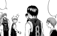 Kuroko is subbed out