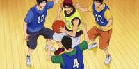 Seirin Freshmen vs Sophomores
