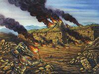 Kitsu Tombs Burned