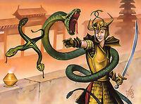 Shuriken of Serpents