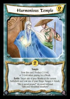 Harmonious Temple-card