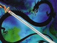 Ancestral Katana of the Dragon