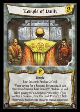 Temple of Unity-card