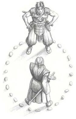 Temoru and his Kakita friend