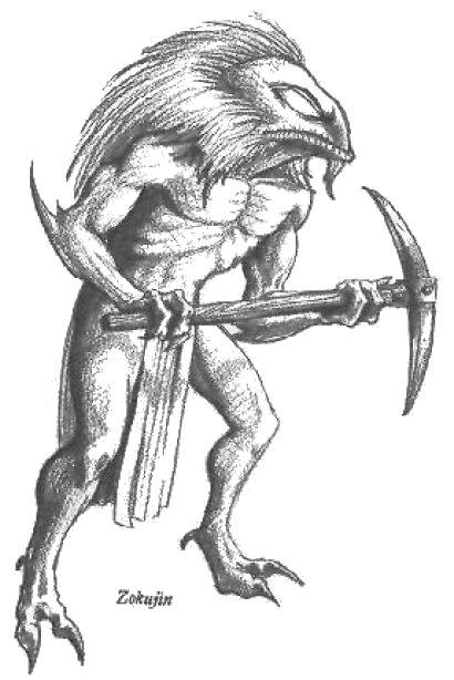 Reptilian miner