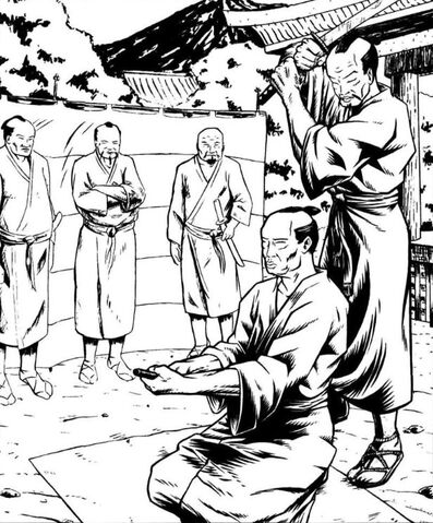 File:Seppuku with Kaishakunin.jpg
