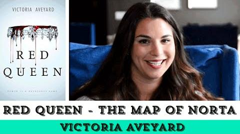Red Queen by Victoria Aveyard - Official Kingdom of Norta Map