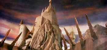 Castle labyrinth