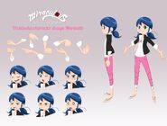 Marinette webisode design