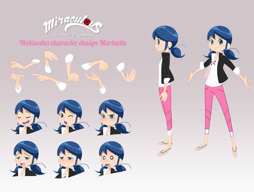 Image - Marinette webisode design.jpg | Miraculous Ladybug ...