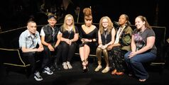 9-14-12 At the launch party of Fame at Macy's, New York City (4)