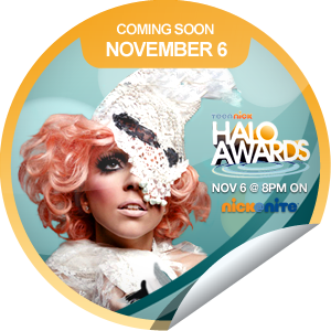 File:GetGlue Stickers - The HALO Awards Coming Soon Lady Gaga.png