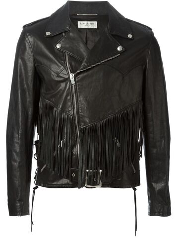File:YSL - Fringed black leather jacket.jpg