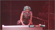 Gaga on a current affair