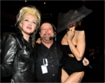 Backstage at the 2011 Grammys 005