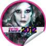 GetGlue Stickers - Big & Best of 2012 Little Monsters