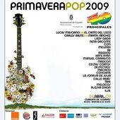 4-24-09 Primavera Pop 2009 Poster