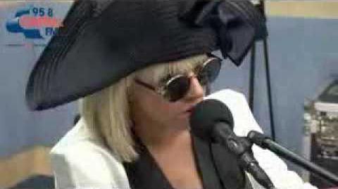 Lady Gaga - Paparazzi (acoustic )