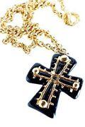 Christian Lacroix Lucite Cross