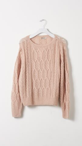 File:Ryan Roche - Cashmere Cable Crewneck sweater.jpg
