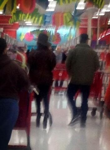 File:12-24-12Gaga and Taylor in Target in Pennsylvania 001.jpg