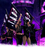 The Born This Way Ball Tour Highway Unicorn 005