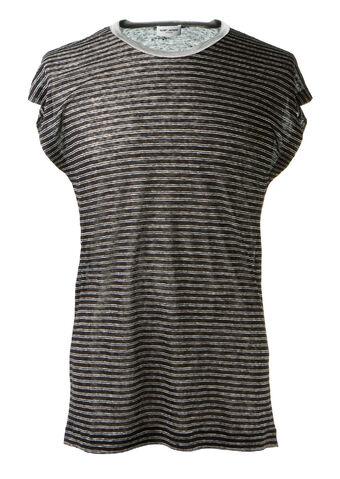File:Saint Laurent - Black and ivory striped linen t-shirt.jpeg