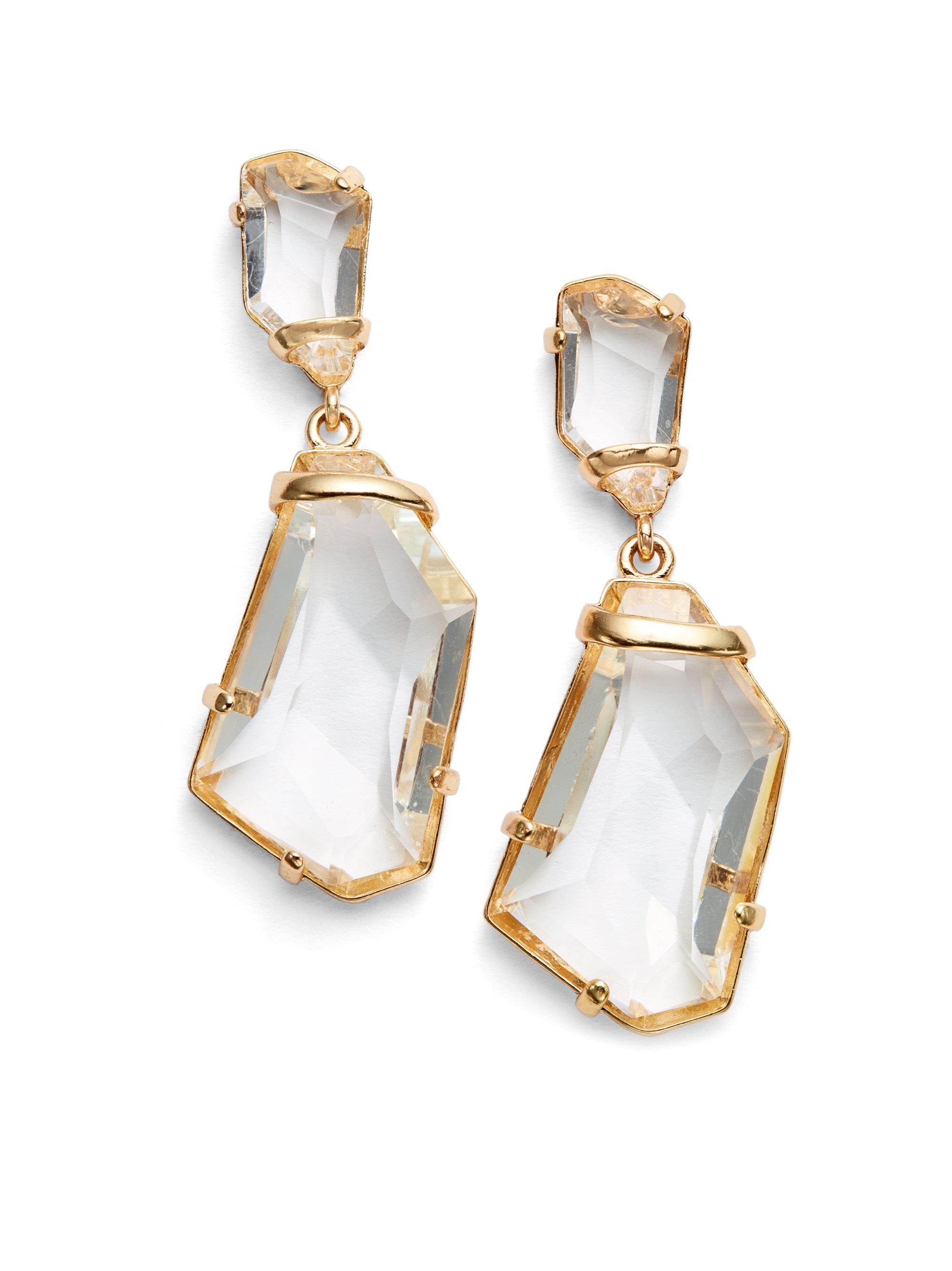 File:Kenneth Jay Lane Clear Crystal Drop earrings.jpg