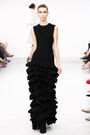 Azzedine Alaia Fall 2011 Ruffle Dress
