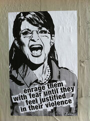 Wheatpaste Palin
