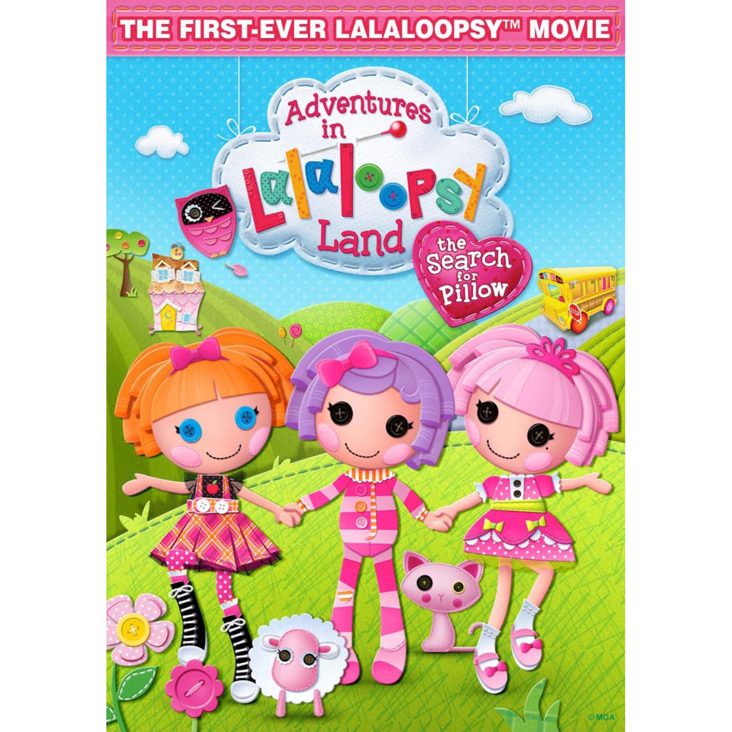 $2 Adventures in Lalaloopsy Land: The Search for Pillow DVD Coupon ...