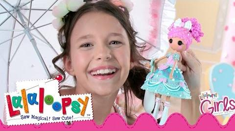 Lalaloopsy Girls Cake Fashion Commercial