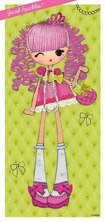 Image jewel sparkles lalaloopsy girls official for Lalaloopsy jewel sparkle coloring pages